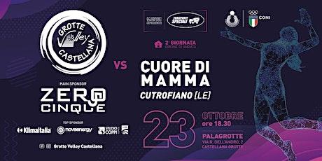 Zero5 Castellana Grotte - Cuore di Mamma Cutrofian biglietti