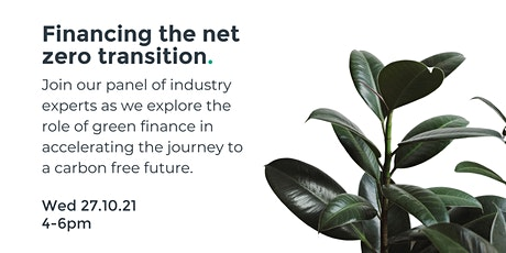 Stand's Sustainnovation Panel –  Financing the Net Zero Transition tickets