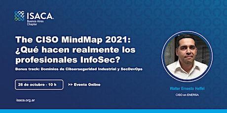 The CISO MindMap 2021: ¿Qué hacen realmente los profesionales InfoSec? boletos