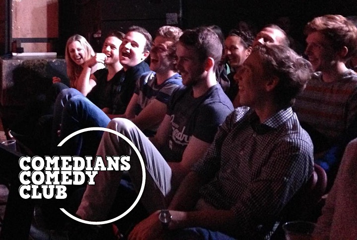 Comedians Comedy Club - LAUGHS ON WEDNESDAY image