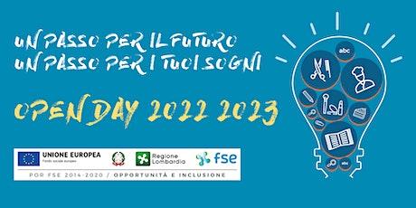 Open Day 13/11/2021 - Centro di Formazione Professionale Casa del Giovane biglietti