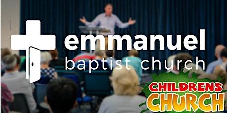 Emmanuel's 9.30AM Sunday Morning Service 31/10/21 tickets
