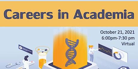 Career Seminar Series: Careers in Academia tickets