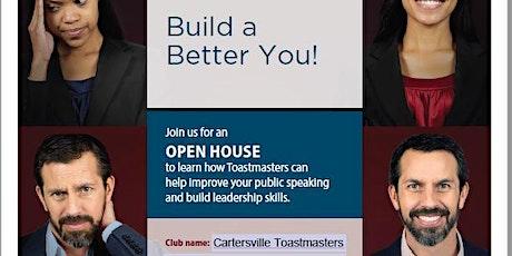 Cartersville Toastmasters Open House tickets