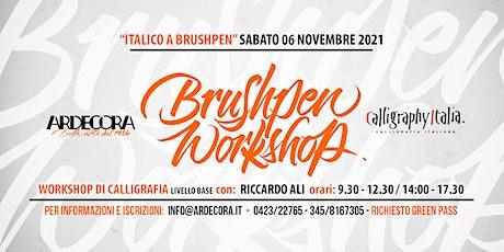 Brushpen Workshop biglietti