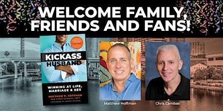 """Book Launch  """"Kickass Husband"""" Author Matthew Hoffman tickets"""