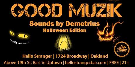 GOOD MUZIK Halloween Party tickets