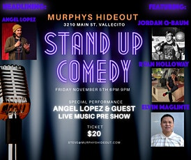 Murphys Hideout Stand Up Comedy tickets