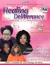 """GDBC 2021 Women's Conference """"Healing and Deliverance"""" tickets"""