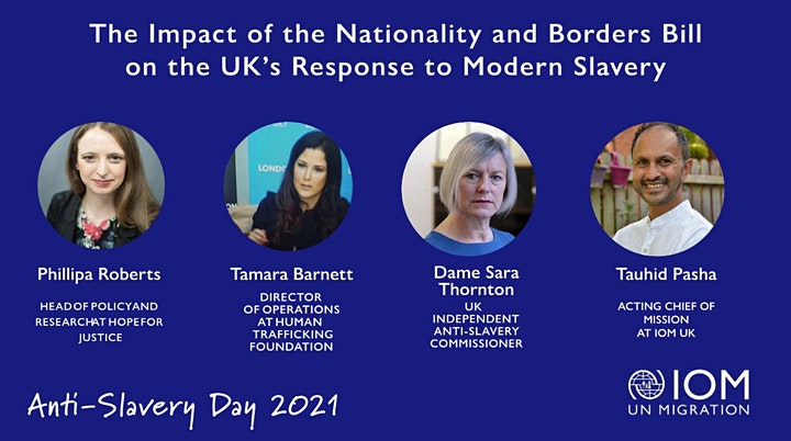 The Impact of the Nationality and Borders Bill on Modern Slavery in the UK image