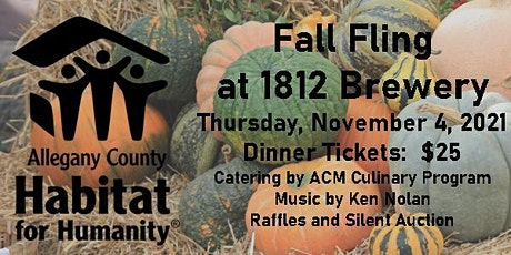 Habitat for Humanity Fall Fling @ 1812 Brewery tickets