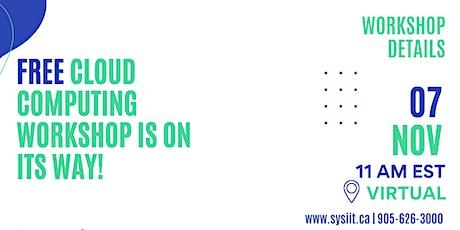 Free Cloud Computing Workshop tickets
