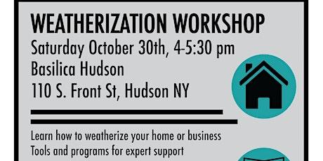 Weatherization Workshop tickets