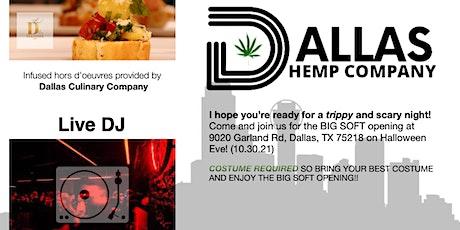 Dallas Hemp Co. Softopening tickets
