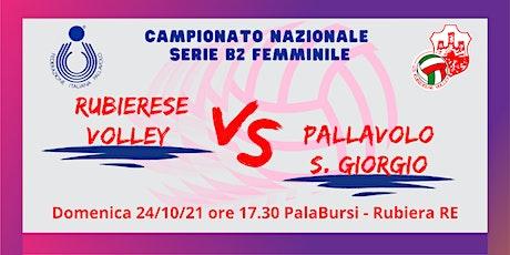 Volley Serie B2 24/10/2021 Rubierese Volley - San Giorgio PC biglietti