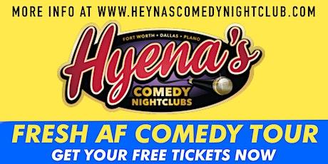 FREE TICKETS | DALLAS HYENA'S COMEDY NIGHTCLUBS 11/19 | Comedy Show tickets
