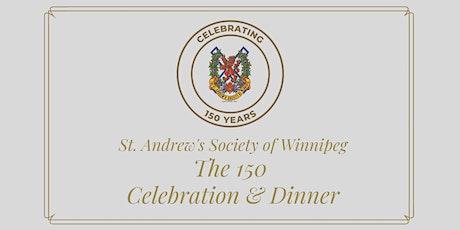 150 Celebration & Dinner tickets