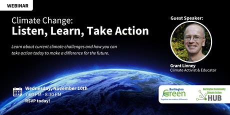 Climate Change: Listen, Learn, Take Action tickets