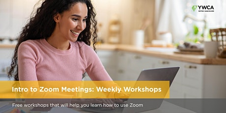 Intro to Zoom Meetings Oct 22 | Free Weekly Workshops tickets
