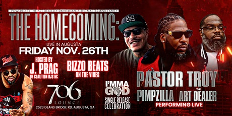 The Homecoming: Imma God Single Release Concert tickets