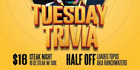 Trivia Tuesday at Moonshine Deck tickets