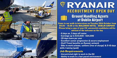 Ground Operations Open Day - Dublin tickets