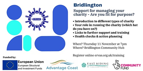Support for managing your charity - Are you fit for purpose? tickets