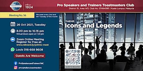 Improve Your Public Speaking Skills at Pro Speakers Toastmasters biglietti