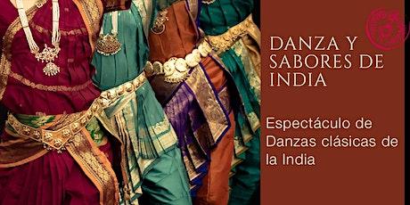 DANZA Y SABORES DE LA INDIA entradas
