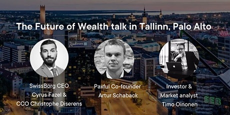 The Future of Wealth talk in Tallinn tickets