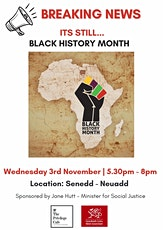 Its Still Black History 'Month': Privilege Cafe Special tickets