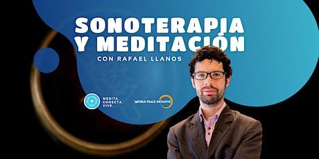 Sonoterapia y Meditación - Octubre boletos