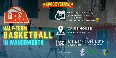 U13 Wandsworth Scrimmages | @ Caius House | October Holiday Basketball tickets