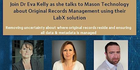 Data Reliability Webinar with Mason Technology tickets
