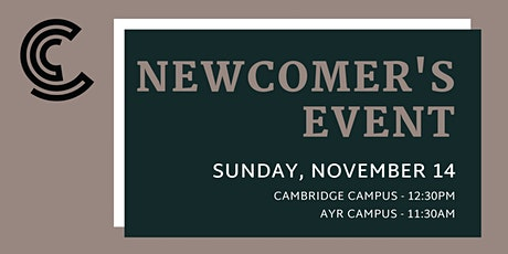 Newcomer's Event: Cambridge Campus tickets