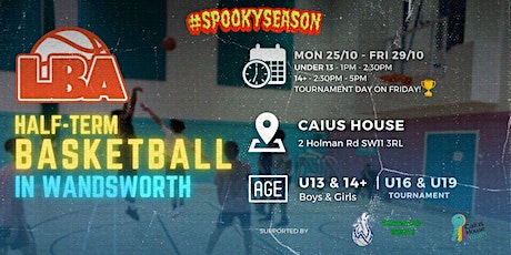 14+ Wandsworth Scrimmages | @ Caius House | October Holiday Basketball tickets