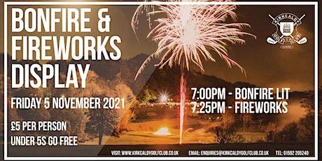 Kirkcaldy Golf Club Bonfire & Fireworks Display tickets
