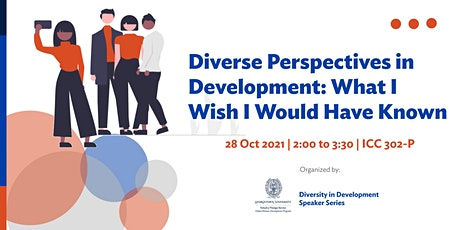Diverse Perspectives in Development: What I Wish I Would Have Known tickets