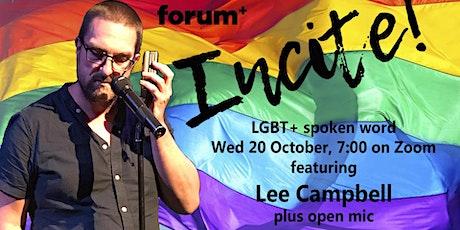 Incite - lgbtq+ spoken word feat open mic! tickets