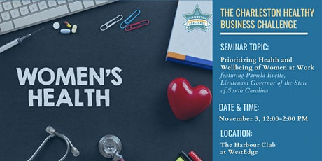 """CHBC LUNCHEON SEMINAR: """"Prioritizing Health and Wellbeing of Women at Work"""" tickets"""