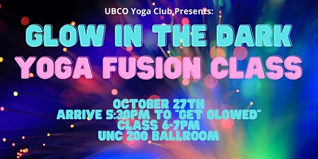 Glow in the Dark Yoga Fusion Class tickets