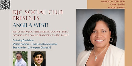 DJC Social Club October Event! Featuring Angela West & Special Guests! tickets