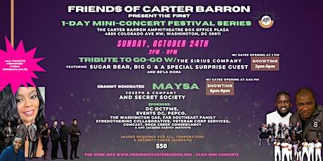 Friends of Carter Barron present 1- Day Mini-Concert Festival Series tickets
