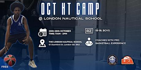 October Half Term Camp | @ LNS | October Holiday Basketball tickets