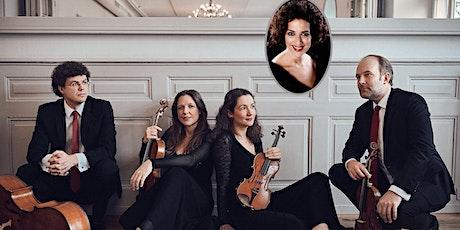 Meistersolisten 5/2021: Amaryllis Quartett / J. Banse, 30.10. 19.30 Tickets