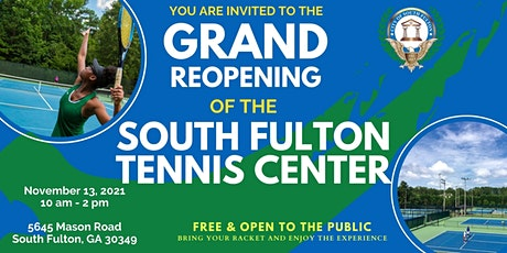City of South Fulton Tennis Center Grand Reopening tickets