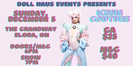 Icesis Couture from Canada's Drag Race Season 2 Live in Elora! tickets