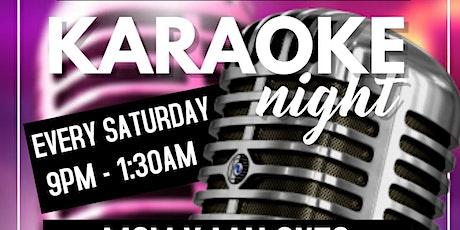 Karaoke Night at Molly Malones tickets