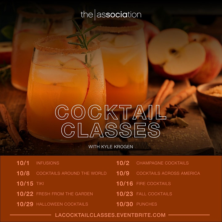The Association's Cocktail Classes image