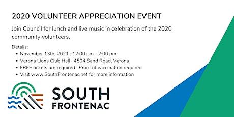South Frontenac 2020 Volunteer Appreciation Event tickets